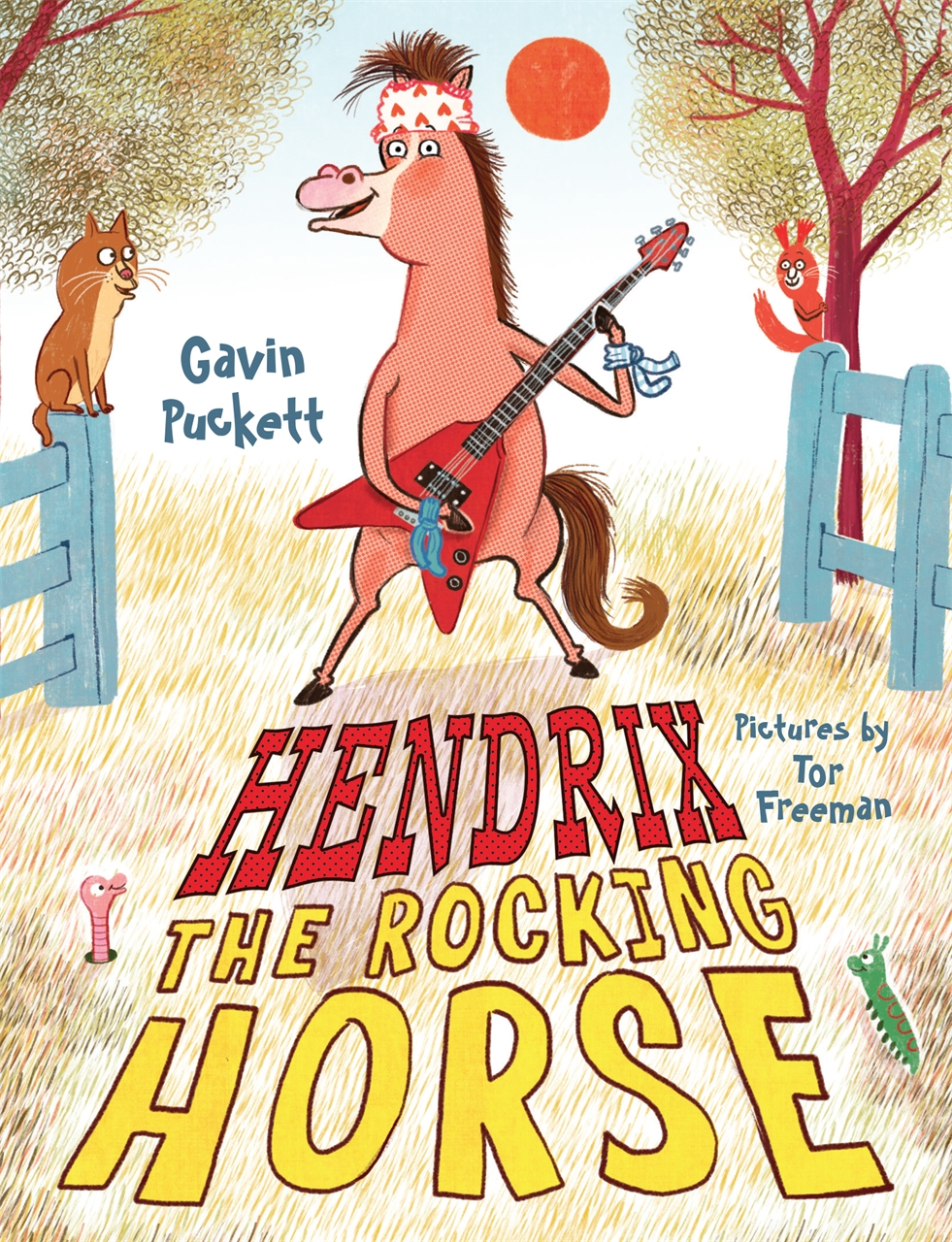 Hendrix the Rocking Horse